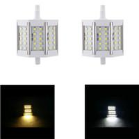 Wholesale R7S W V LED SMD Lamp Flood Light Bulb Lamp White Warm White degree Floodlights Led Lighting Energy Saving H11150