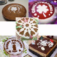 sugar flowers - 6pcs Bakeware Decoration Flower Fondant Cookies Flour Sugar Cake Cutter Moulds Decorating Cooking Tools Set Baking Mold H13622