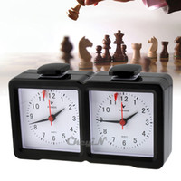 Wholesale FREE SHIP ANALOG CHESS TIMER MASTER TOURNAMENT GAME COMPETITION PRO BOARD SET CLOCK PIECE MEN QZ002H Z35