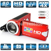 Wholesale New LCD MP Digital Video Camcorder Camera Digital Video Recorder Camera Digital ZOOM DV Camcorders Whloesale