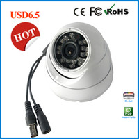 Wholesale HOT SALE Cheapest indoor Dome Security Camera Cmos Tvl DIS Analog cctv Camera