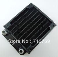Wholesale 80mm Aluminum computer radiator water cooling cooler for CPU heatsink
