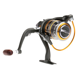 Wholesale NEW BB Ball Bearings Left Right Interchangeable Collapsible Handle Aluminum Carp Fishing Spinning Reel DK4000 H13857