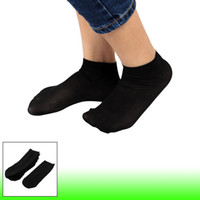 ankle socks black - 10 Pairs Soft Elastic Black Sheer Ankle Socks for Ladies