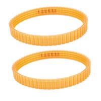 Wholesale 2 x Orange Soft Plastic Inch Width Electric Power Drive Belt for Makita B