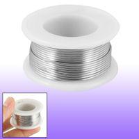 solder wire - 1 Flux mm Diameter Tin Lead Soldering Rosin Core Wire Silver Tone