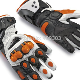 New arrival PRO Leather Glove motorcycle motorbike GP gloves