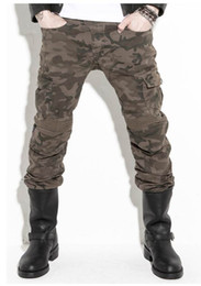 New arrival motorcycle jeans uglyBROS - Motorpool Camo- men's stylish riding jeans