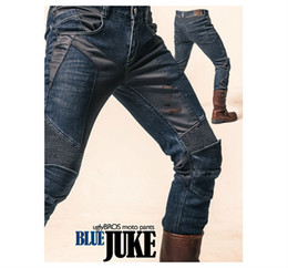 New arrival motorcycle super fitting mesh jeans,summer breathable racing pants Slim straight fit uglyBROS Juke blue