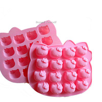 cupcake soap - 16 Holes Mickey Mouse Silicone Mold Cake Muffin Moulds Cupcake Pan Soap Molds