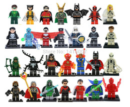Wholesale Marvel Super Heroes Figures The Avengers Building Blocks Sets Minifigures Classic Toys Bricks Compatible With Lego0