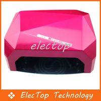 Wholesale 36W LED Light Diamond Shaped Best Curing Nail Dryer Nail Art Lamp Care Machine for UV Gel Nail Polish