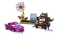 Wholesale Building Blocks for Children The medium size Cars Building Blocks Sets Figure DIY Bricks Toys For Children