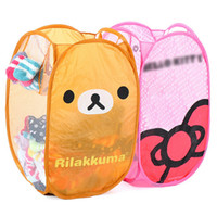 Wholesale Cute animals series folding laundry basket of laundry barrels receive basket JB23