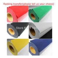 Wholesale Cutting Plotter DIY T shirts Flocking Heat Transfer Vinyl Film