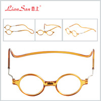 Wholesale Adjustable Fashion Magnetic reading eyeglasses unisex reading eyeglasses D Front Connect Reader reading glasses L6100