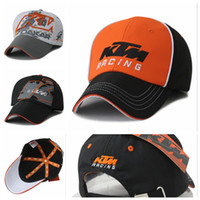 Wholesale Colors MOTO GP KTM Racing Cap Outdoor Sports Motorcycle Hat Women Men Casual Baseball Cap Bones Snapback F1 Caps Hats Gorras