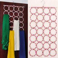clothes rack - High quality Hangers Racks environmental protection paper rattan racks circle scarf silk scarf hung JC8