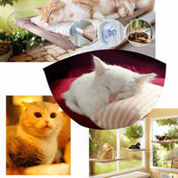 Wholesale High Quality Cat Window Mounted Bed quot Sunny Seat Pets Hammock Beds Washable Cover H13643