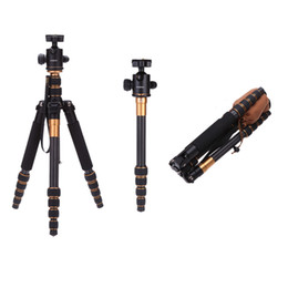Wholesale Andoer Professional Carbon Fiber Tripod for SLR Camera Ball Head Monopod Changeable Portable Traveling Max Load kg D1112