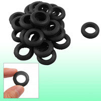 Wholesale 50 Wire Protective Black Rubber mm Double Sided Grommets
