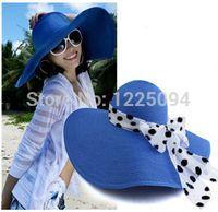 Wholesale L0250 new fashion Korean style summer hats women spring Visor women s Large brimmed floppy sun hat womens Thicken beach