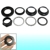 ball bearing races - Racing Bike Black Metal Bearing Ball Inch Threaded Headset
