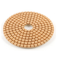 4 inch stone polishing pads - 3 Inch Outside Dia Granite Marble Stone Grit Diamond Polishing Pad Disc
