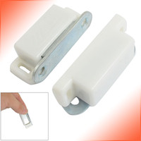 Wholesale 2 Inch Long Cupboard Door Plastic Shell Magnetic Catch Set