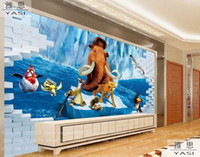 age roll - Ice Age d children wallpaper roll fresco papel de parede tapete infantil wall wallpaper background homedecoration