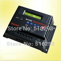 Wholesale solar changer controller C2460 V A solar controller solar system made in china for Africa America