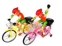 Wholesale bikes electric bicycles electric driven toys with music and lighting model bicycle toys CN post