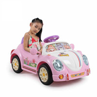 ride on - electric car for kids ride on with remote control and music beetle car baby children gift baby Christmas frozen ride on toy car