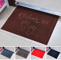 Wholesale Cute feet porch mat The hall door mat toilet door mat bathroom water carpet JD8