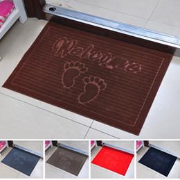 Cute feet porch mat The hall door mat toilet door mat bathroom water carpet JD8