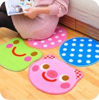 Wholesale Creative contracted cute cartoon hallway kitchen mat bath mat JD11