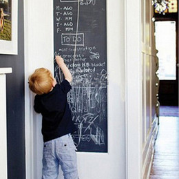 Home Decoration Vinyl Chalkboard Wall Stickers Removable Planner Blackboard Decals Great Gift for Kids 45CMx200CM JE14