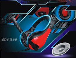 Super Bass Folding Stereo Game Gaming Headset Headphones with Microphone Line Controlle for PC Computer Laptop