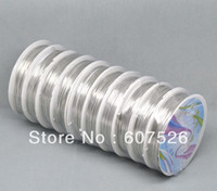 Wholesale 0 mm Rolls M Roll Silver Tone Copper Tiger Tail Beading Wire steel jewelry string DIY Jewelry Findings