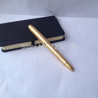 markers and signs - Unique Christmas gifts for coworkers golden color great quality metal roller pen and sign pen for boss gift for boss