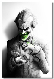 Batman Joker 12x18 20x30 24x36 26 Batterie de Batman Joker 12x18 cheap batman video games à partir de jeux vidéo batman fournisseurs
