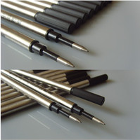Wholesale EX WORKS Great writing feel pen refill For Sale ink pen refill a blue writing and black writing ink