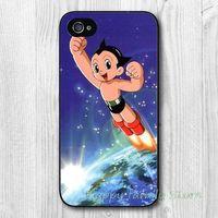 Plastic astro apple - Yark High Quatity Cute Cartoon Astro Boy Custom Hard Plastic Mobile Phone Bag Case Cover for iphone for samsung phone case