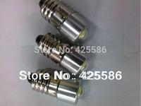 Wholesale LED E10 W recessed screw LED light V E10 W screw base LED flashlight bulb V