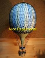 airship balloon - Alice papermodel Hot air balloon airship plane models Balloon models