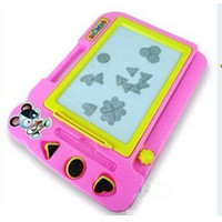 Wholesale Children s magnetic painting writing board tablet with three children s toys A080