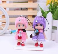 8cm mayor-menor y al por mayor Ddung muñeca como accesorios del teléfono celular / accesorios del bolso / de decoración de interior Kits / Auto + envío Girls Toy gratuito