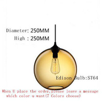 Wholesale Niche modern pendant lamp Stained Glass Pendant Light Stylish Restaurant Bar Lighting Bedroom Balloons Droplight