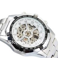 Wholesale New Design Fashion Clock Men Skeleton Automatic Mechanical Watch Brand Name Watch TM340
