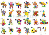 Cheap Wholesale-musical bed car hanging toys 2015 brand infant Baby Rattle Toy Multifunction Clip Rattles Developmental Activity Lovely Baby Toy